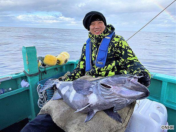 釣りびと万歳「巨大魚アブラボウズ 深海の大捕り物 〜木本武宏 福島・常磐沖〜」