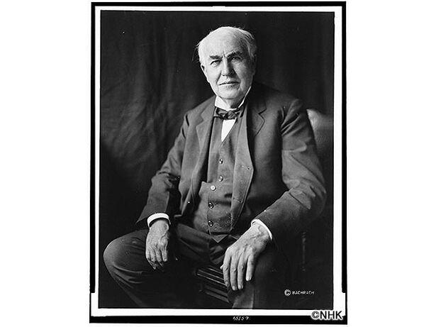 偉人たちの健康診断「発明王エジソン 驚異のひらめきと集中力の謎」