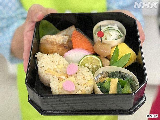 趣味どきっ! 伝統と革新!すぐ使える お弁当大百科(3)「華やか卵弁当」