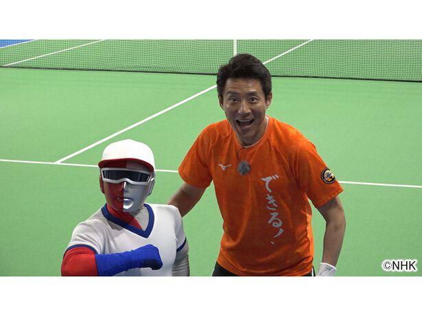 松岡修造の人生はテニスだ!withはりきり体育ノ介