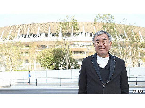 東京の空「国立競技場と、私」